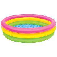 Intex Dmuchany basen dla dzieci Sunset, 3 obręcze, 114x25 cm