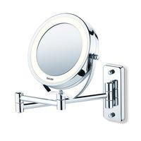 Beurer Podświetlane lusterko kosmetyczne BS59, srebrne