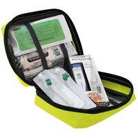 Travelsafe 31-cz. zestaw pierwszej pomocy Globe Sterile Plus, żółty