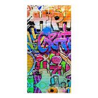 Good Morning Ręcznik plażowy GRAFFITY, 75x150 cm, kolorowy