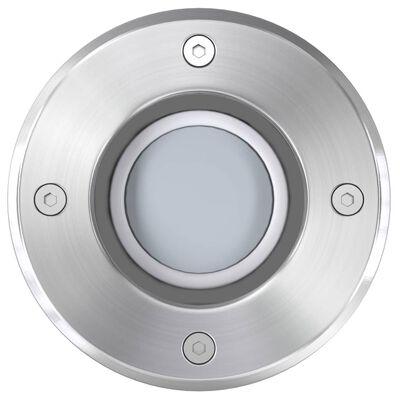 vidaXL Lampy najazdowe LED, 3 szt., kwadratowe