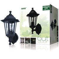Ranex Lampa ścienna 60 W, czarna, CLAS5000.030