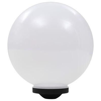 vidaXL Kuliste lampy solarne na zewnątrz, 2 szt., LED, 30 cm, RGB