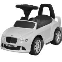 Bentley - samochód zabawka dla dzieci napędzany nogami biały