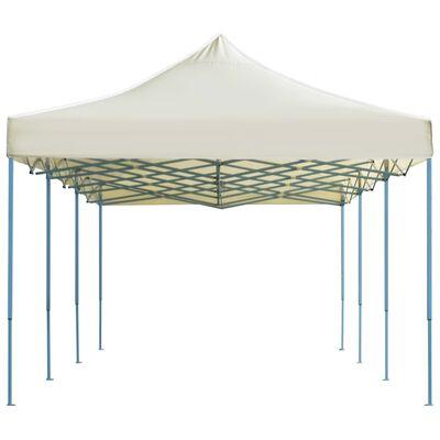 vidaXL Składany namiot imprezowy, 3 x 9 m, kremowy