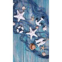 Good Morning Ręcznik plażowy KEVIN, 100x180 cm, niebieski