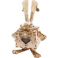 Robotime Zestaw modelarski, pozytywka Steampunk Bunny