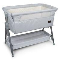 "Baninni Baby Co-Sleeper ""Elia"" 92x55x82 cm Light Grey"