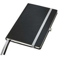 Leitz Notes Style A5, w kratkę, czarny