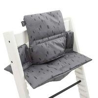 Jollein Poduszka na regulowane krzesełko do karmienia Spot, szara
