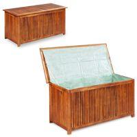 vidaXL Skrzynia ogrodowa, 150 x 50 x 58 cm, lite drewno akacjowe
