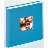 Walther Design Album na fotografie Fun, 30x30 cm, niebieski, 100 stron