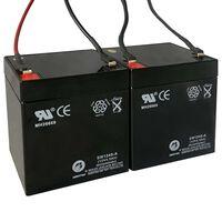 Akumulatory do hulajnóg elektrycznych, 2 szt., 12 V, 4,5 Ah