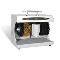 vidaXL Elektryczna maszyna do czyszczenia butów, polerka