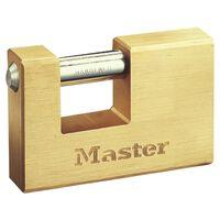 Master Lock Kłódka zbrojona, trwały mosiądz, 85 mm, 608EURD