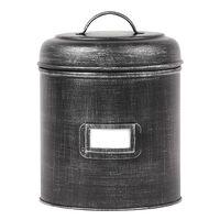 LABEL51 Puszka, 18 x 18 x 24 cm, L, antyczna czerń