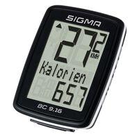 Sigma Licznik rowerowy BC 9.16, czarny, 9160
