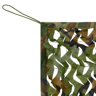 vidaXL Siatka maskująca z torbą do przechowywania, 1,5 x 10 m