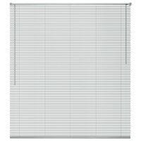vidaXL Żaluzja aluminiowa, srebrna 60x130 cm