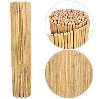 vidaXL Ogrodzenie z bambusa, 300x130 cm