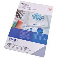 GBC Zestaw okładek do bindowania HiClear, A4, 240 mikronów
