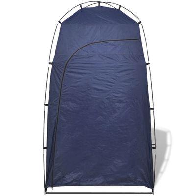 vidaXL Namiot prysznic/WC/przebieralnia, niebieski