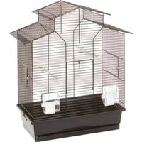 FLAMINGO Klatka dla ptaków Numfor, czarna, 52x30x61 cm