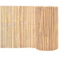 vidaXL Ogrodzenie z bambusa, 1000 x 50 cm