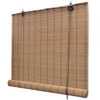 vidaXL Roleta bambusowa, 150 x 160 cm, brązowa