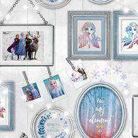 Kids at Home Tapeta Wallpaper Frozen Frames, szara