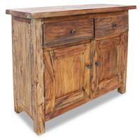 vidaXL Szafka, lite drewno z odzysku, 75 x 30 x 65 cm
