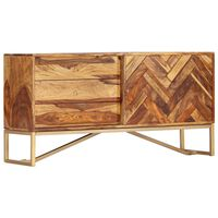 vidaXL Szafka, 118 x 30 x 60 cm, z litego drewna sheesham