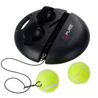 Pure2Improve Urządzenie do treningu tenisa, czarne, P2I100180