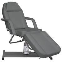 vidaXL Stół do masażu, szary, 180x62x(87-112) cm