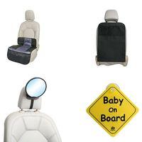 A3 Baby & Kids 4-częściowy zestaw akcesoriów samochodowych dla dziecka