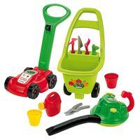 Ecoiffier Zestaw zabawek ogrodniczych 3-w-1, czerwony, 1430301
