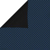 vidaXL Pływająca folia solarna z PE, 800x500 cm, czarno-niebieska