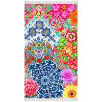Happiness Ręcznik plażowy ZAIRA, 100x180 cm, kolorowy