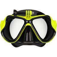Waimea Maska do nurkowania z uchwytem na kamerę, silikon, 88DT-ZWG-Uni