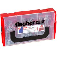 Fischer Zestaw kołków ze śrubami FIXtainer DUOPOWER/DUOTEC, 200 szt.