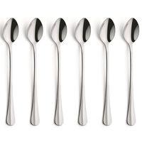 Amefa 6-częściowy zestaw długich łyżeczek Baguette