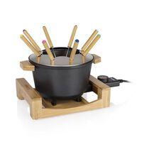 Princess Zestaw do fondue Pure, 800 W, czarny