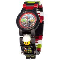 LEGO City Zegarek na rękę Strażak, plastikowy, wielokolorowy, 8021209