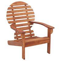 vidaXL Krzesło ogrodowe Adirondack, lite drewno akacjowe