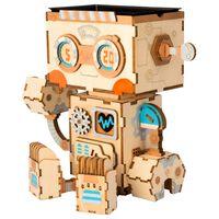Robotime Zestaw modelarski do budowy doniczki Robot