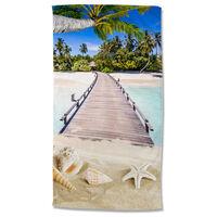 Good Morning Ręcznik plażowy MOANA, 100x180 cm, kolorowy