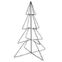 vidaXL Ozdoba świąteczna w kształcie choinki, 240 LED, 115x150 cm
