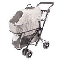 Duvo+ Wózek dla zwierzaka Deluxe, 79 x 46 x 99 cm, szary