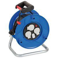Brennenstuhl Przedłużacz bębnowy Garant, wejście USB, niebieski, 25 m